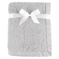 Hudson Baby® Sherpa Blanket in Grey