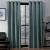 Exclusive Home Virenze 108-Inch Grommet Window Curtain Panel Pair in Marine