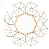 Southern Enterprises Vallani Sunburst Mirror in Gold