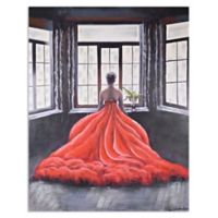 Ren-Wil Red Dress Canvas Wall Art