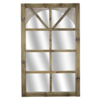 Masterpiece Art Gallery 31-Inch x 20-Inch Rectangle Bamboo Wall Mirror