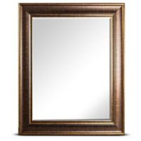 Bentley 25-Inch x 21-Inch Rectangular Wall Mirror in Bronze
