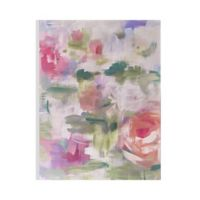 Graham & Brown Abstract Flowers 24-Inch x 32-Inch Framed Wrapped Canvas
