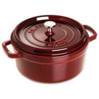 Staub 2.75-Quart Round Cocotte in Dark Red