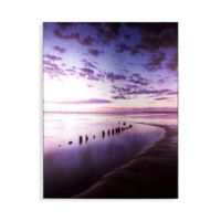 Graham & Brown Shore And Sky 24-Inch x 32-Inch Framed Wrapped Canvas in Blue
