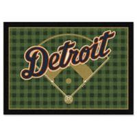 "MLB Team Field Detroit Tigers 5'4"" x 7'8"" Area Rug"