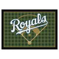 """MLB Team Field Kansas City Royals 5'4"""" x 7'8"""" Area Rug"""
