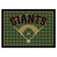 "MLB Team Field San Francisco Giants 5'4"" x 7'8"" Area Rug"
