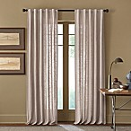 Cambria® Malta 63-Inch Rod Pocket/Back Tab Window Curtain Panel in Linen