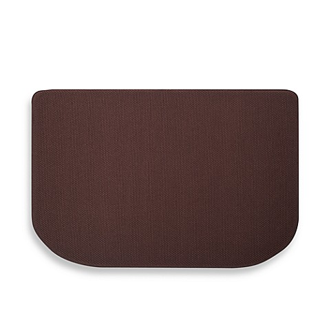 Microdry® Memory Foam HD™ 22-Inch x 32-Inch Textra™ Kitchen Mat in Coffee
