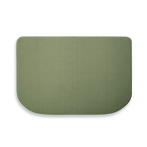 Microdry® Memory Foam Textra™ Kitchen Mat in Fern