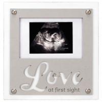 Maiden Love First Sight Sonogram Photo Frame in Grey