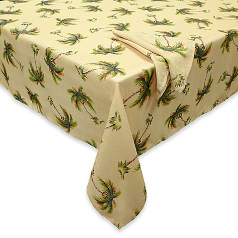 Palm Beach Tablecloth And Napkins Bed Bath Amp Beyond