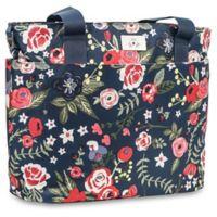Ju-Ju-Be® Encore Diaper Tote Bag in Midnight Posy