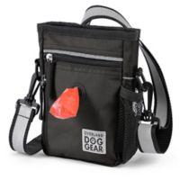 Overland Travelware Dog Gear Day/Night Walking Bag in Black