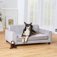 Enchanted Home Pet® Ludlow Large Pet Sofa in Grey