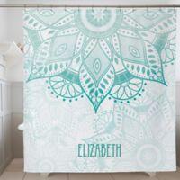 Mandala Personalized Shower Curtain