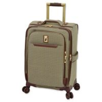 London Fog® Cambridge II 20-Inch Spinner Carry On Luggage in Olive