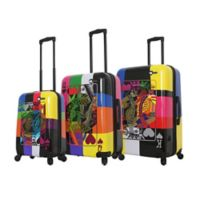 Mia Toro ITALY Art of Luck 3-Piece Hardside Spinner Luggage Set