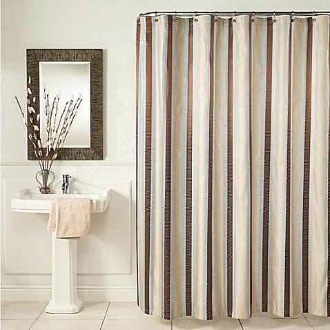Mstyle Hudson Stripe Shower Curtain