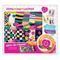 Little Miss Matched® Happy Smiles Spin-O-Rama Sock Set