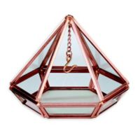 Lillian Rose™ Hanging Prism Ring Holder in Copper