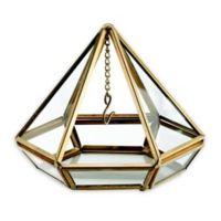 Lillian Rose™ Hanging Prism Ring Holder in Golden