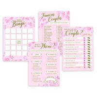 Lillian Rose™ Bridal Shower Games (Set of 4)