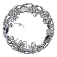 Arthur Court Designs Grape 15-Inch Round Tray