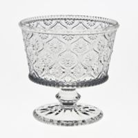 Table Art Cameo Beaded Glass Dessert Bowls (Set of 4)