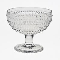 Table Art Pearls Beaded Glass Dessert Bowls (Set of 4)