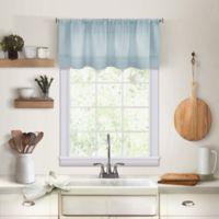 Maison Kitchen Window Valance in Mineral