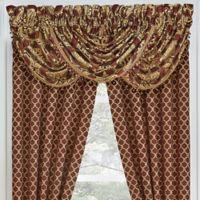 Croscill® Gianna Waterfall Window Valance in Red