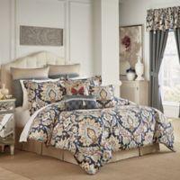 Croscill® Finnegan California King Comforter Set in Blue