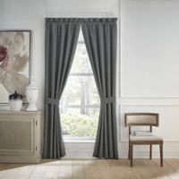 Croscill® Finnegan 84-Inch Rod Pocket Window Curtain Panel Pair in Blue