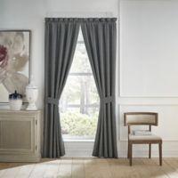 Croscill® Finnegan 95-Inch Rod Pocket Window Curtain Panel Pair in Blue