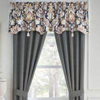 Croscill® Finnegan Canopy Window Valance in Blue