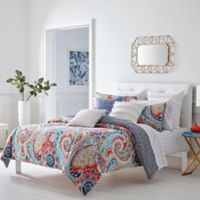 Trina Turk Mirage Paisley Full/Queen Duvet Cover Set in Orange