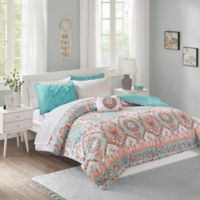 Intelligent Design Vinnie 6-Piece Twin Comforter Set in Aqua