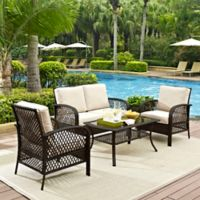 Tribeca 4-Piece Seating Set in Sand