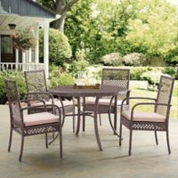Crosley Tribeca 5-Piece Dining Set in Sand