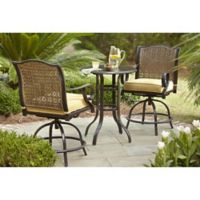 Royal Garden St. Kitts 3-Piece High Dining Set