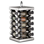 Stainless Steel 20-Jar Spice Rack