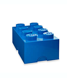 Caja de polipropileno LEGO® Brick 8 color azul