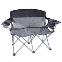 Stansport® Double Apex Folding Chair in Black/Silver