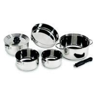 Stansport® Stainless Steel Family Outdoor Cookware Set