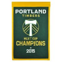 MLS Portland Timbers Cup Champions Banner