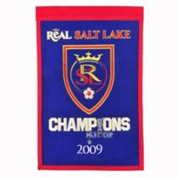 MLS Real Salt Lake Cup Champions Banner