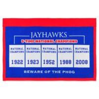 University of Kansas Rafter Raiser Banner