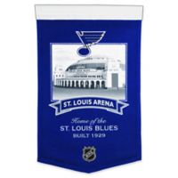 NHL St. Louis Blues Arena Banner in Black